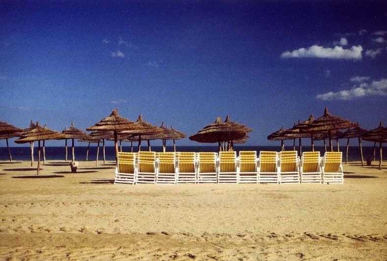 Am Strand von Hammamet