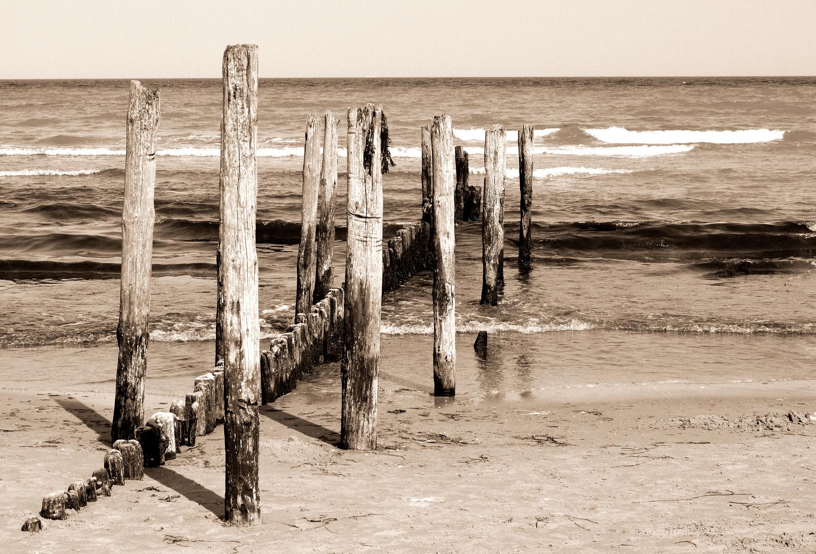 Am Strand von Juliusruh