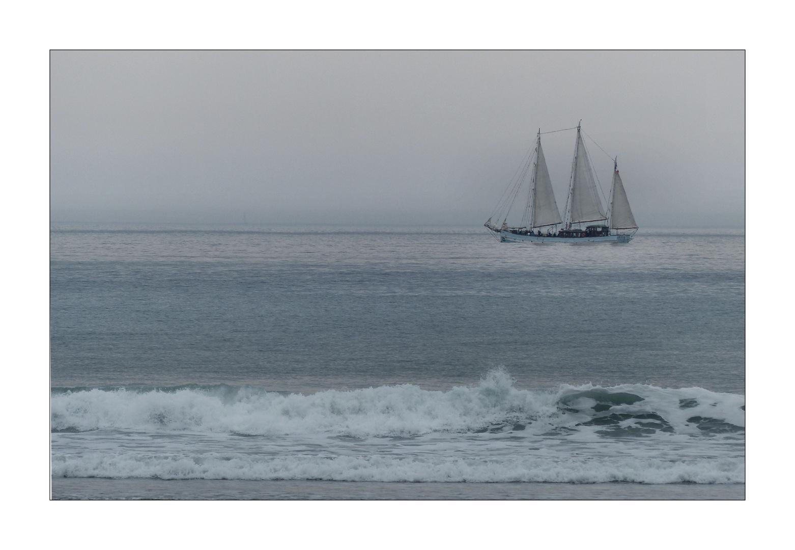 Am Strand von Kervel