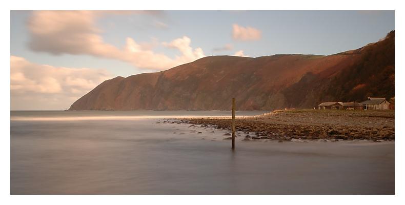 Am Strand von Lynmouth