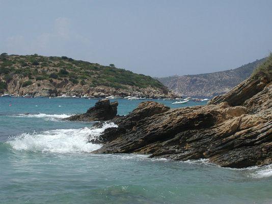 Am Strand von Mallorca.....