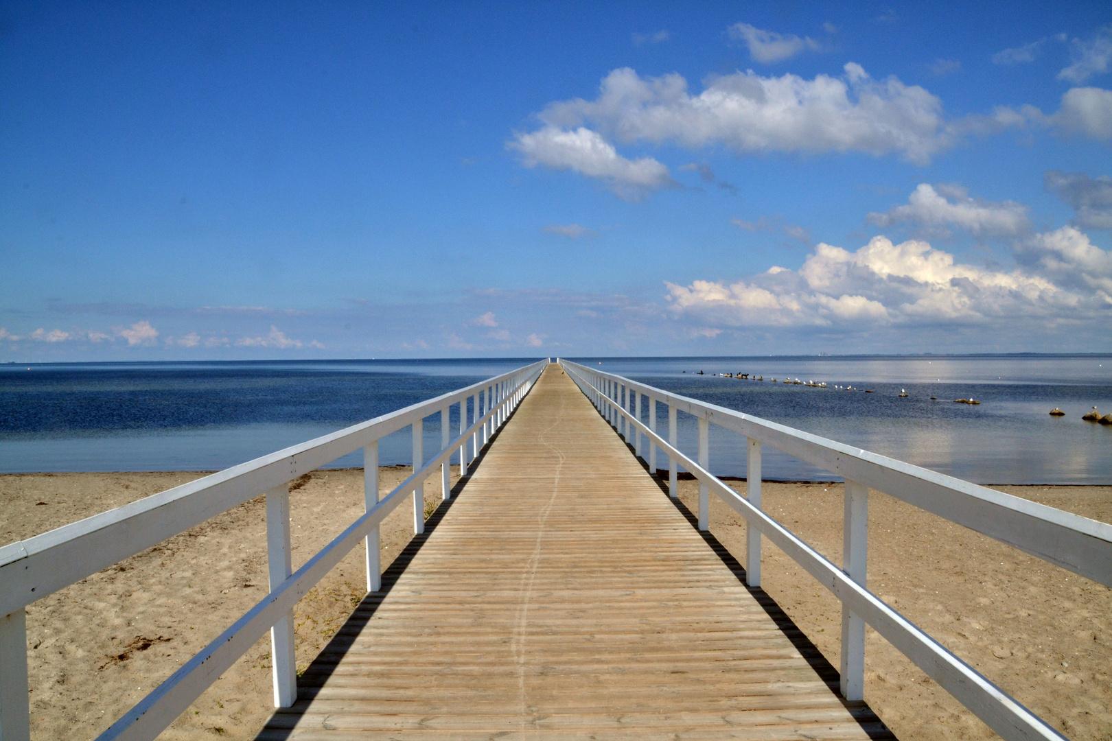 Am Strand von Malmö
