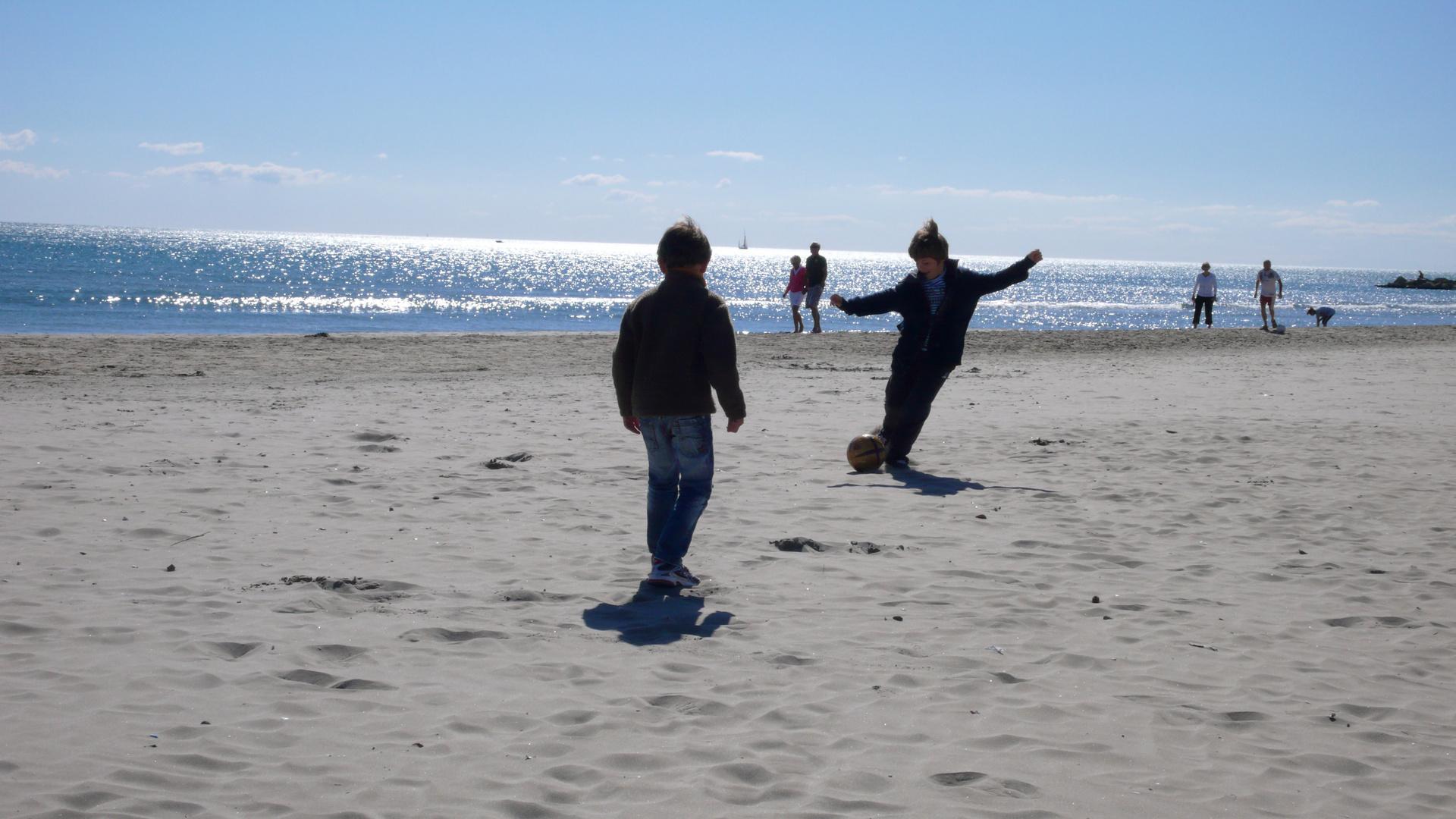 Am Strand von Palavas
