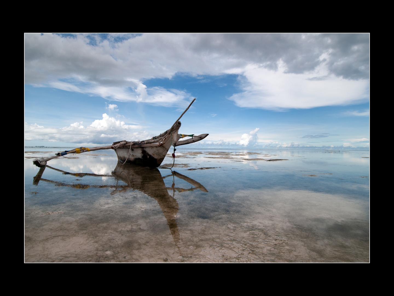 Am Strand von Sansibar