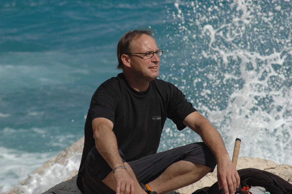 Am Strand von Sardinien