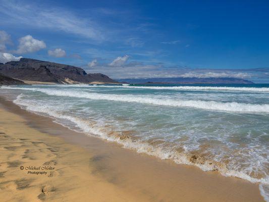Am Strand von São Vicente