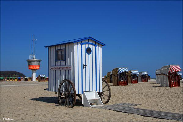 Am Strand von Travemünde
