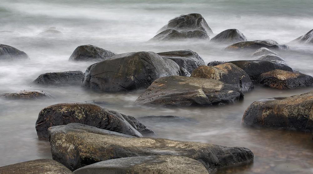 Am Strand von Unstad i Lofoten