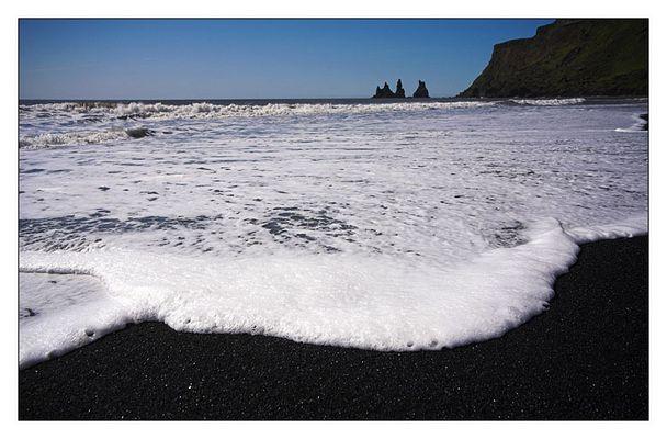 Am Strand von Vik