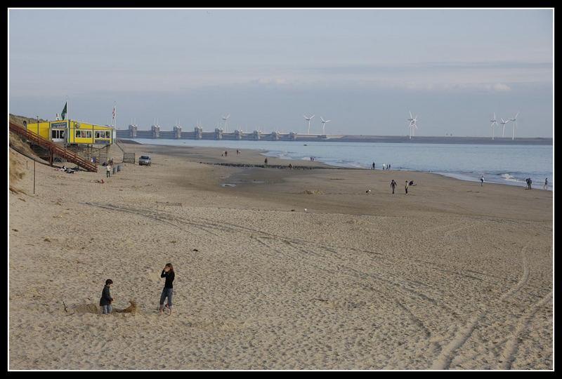 Am Strand von Westenschouwen