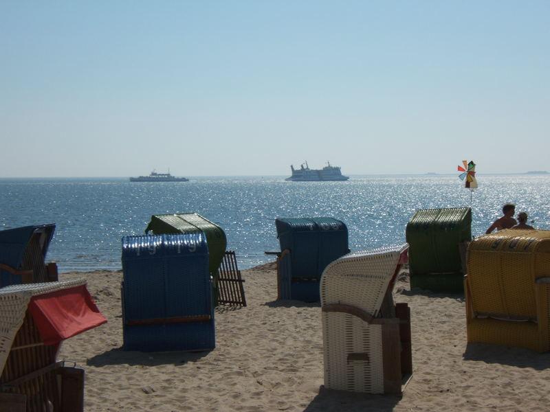 Am Strand vor Föhr