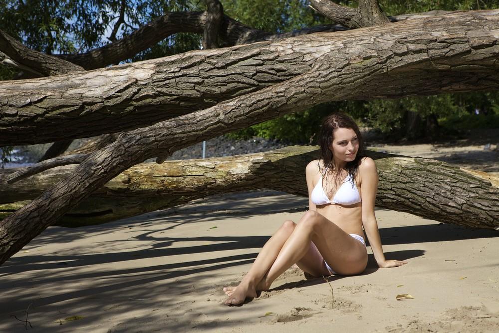 Am Strand...(3)