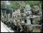 Am Südtor von Angkor Thom