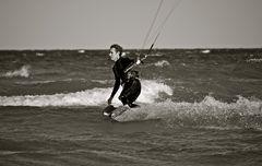 Am Surf-Strand