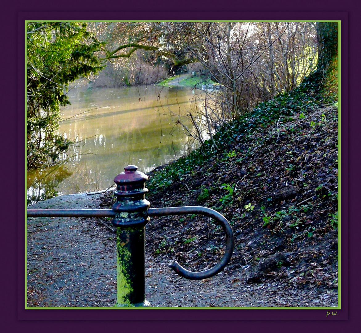 """Am """"Travesee"""" ......bevor das Hochwasser wieder abzog"""