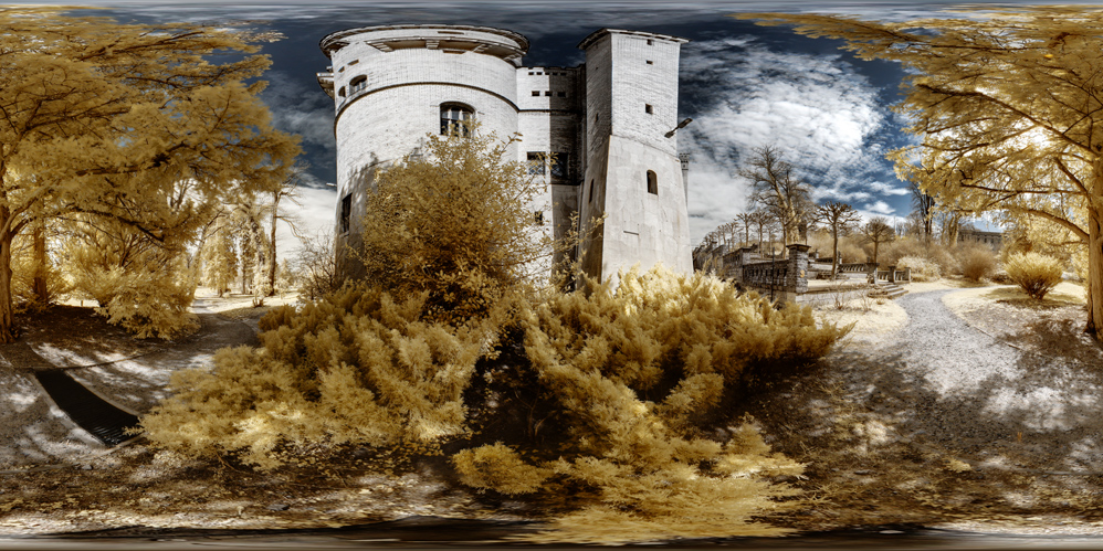 Am Turm vom Schloss