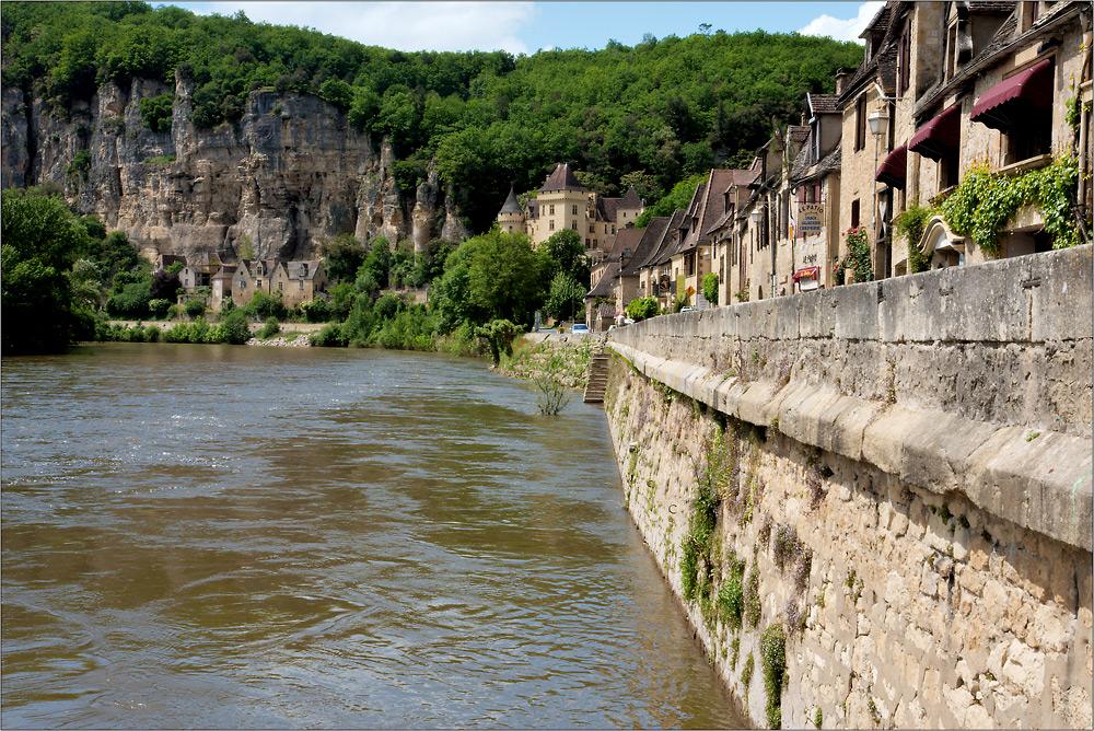 Am Ufer der Dordogne