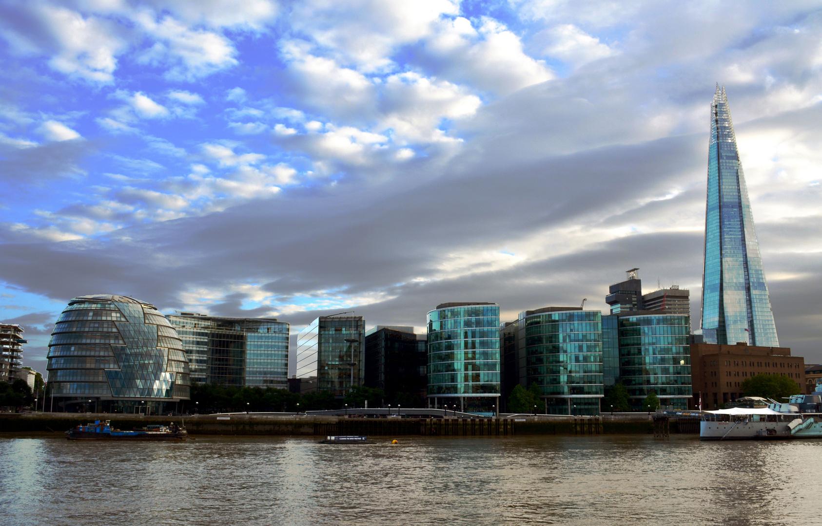 Am Ufer der Themse