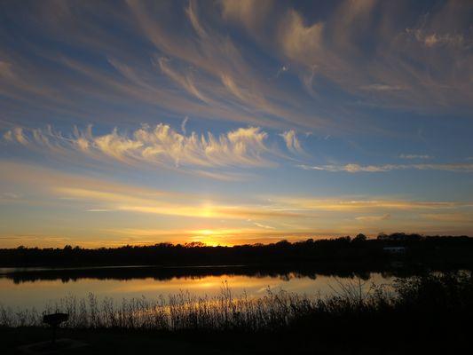 Am Ufer des Glenn Cunnigham Lake