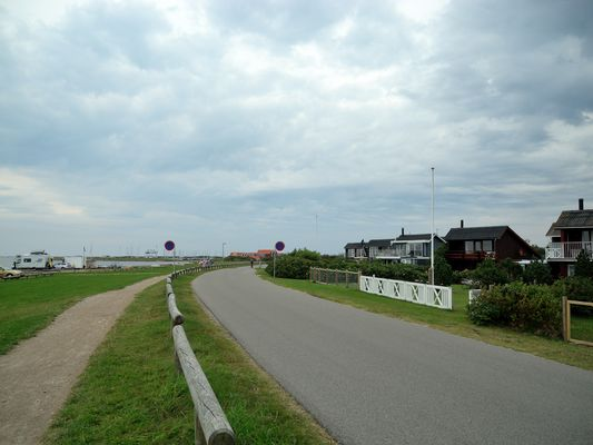 am Weg nach Bork Havn
