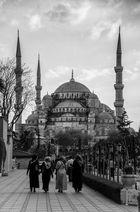 Am Weg zur blauen Moschee