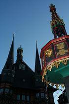 Am wernigeröder Rathausbrunnen