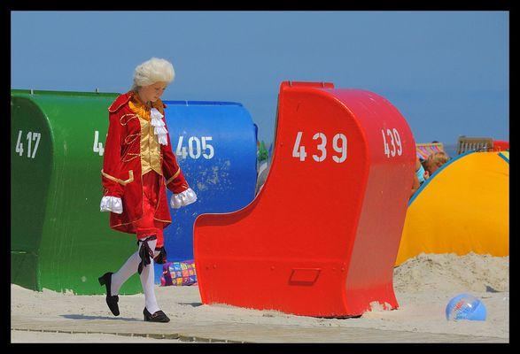 Amadeus meets beach.....