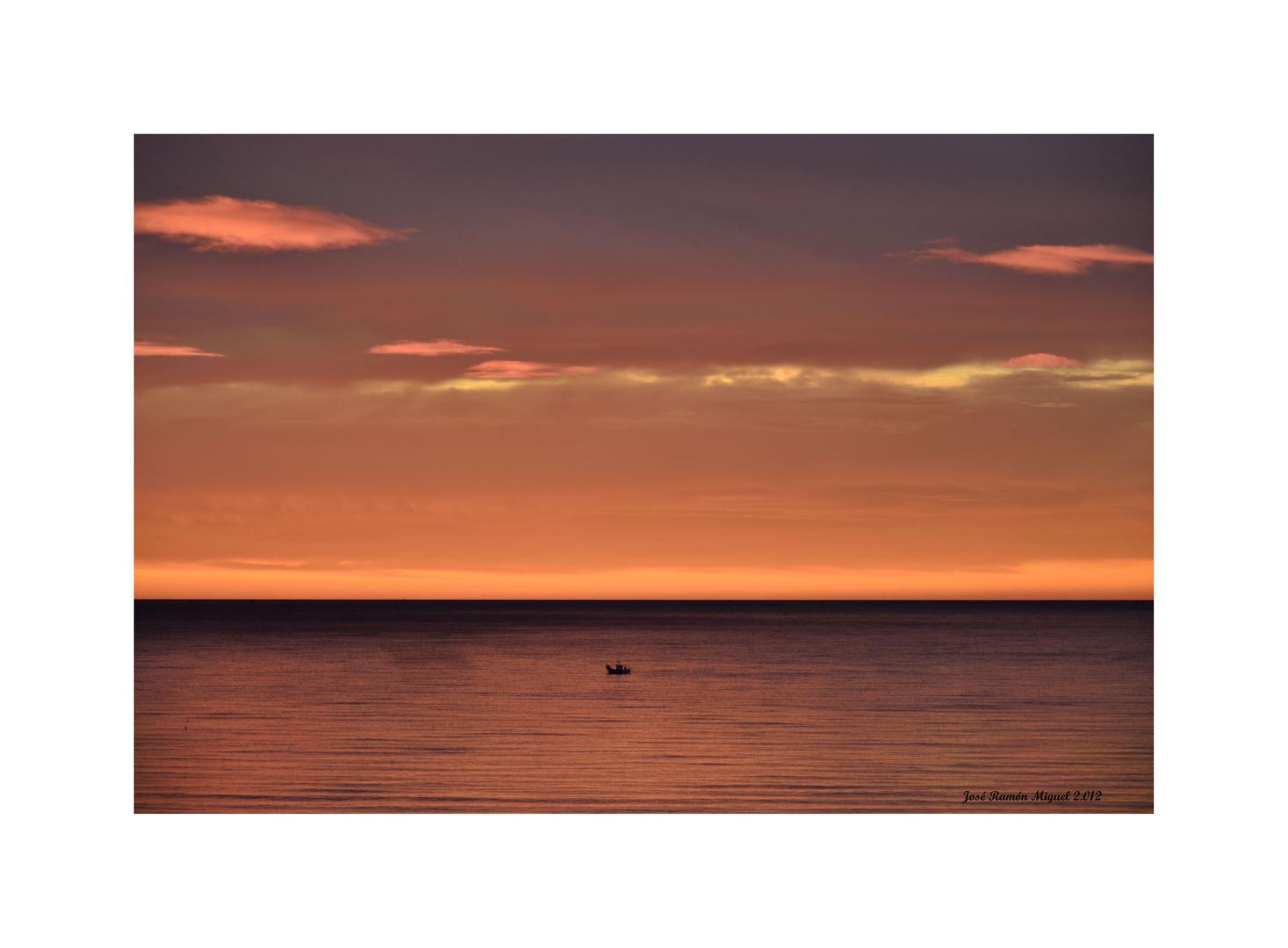 Amalgama en el mar