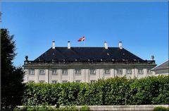 Amalienborg Palace.