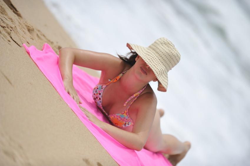 Amanda's Beach Hat