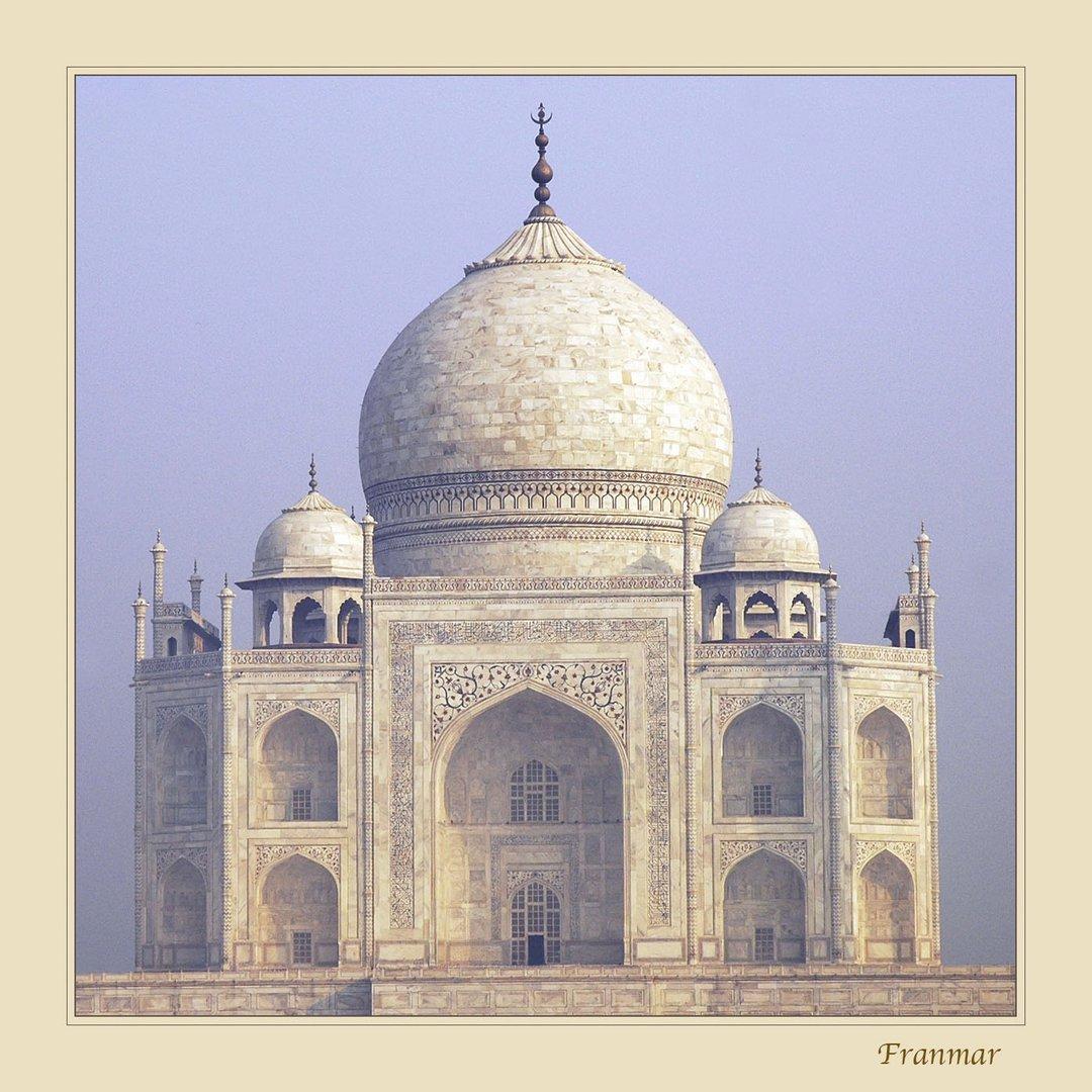 Amanece en el Taj Mahal