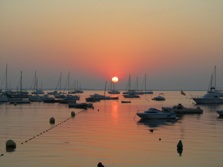 Amanecer en el Mar Menor 9