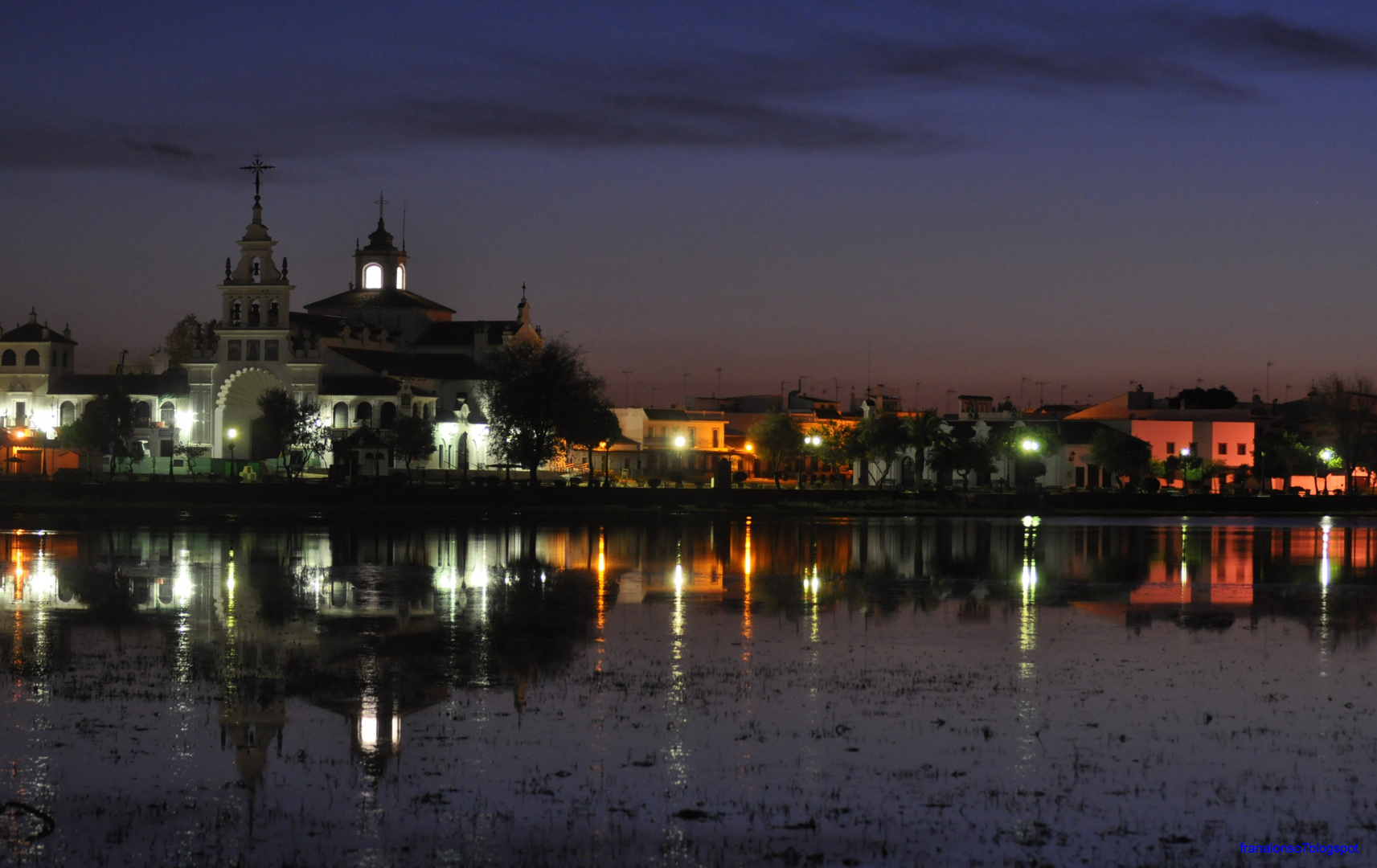 Amanecer en la Aldea del Rocio,Almonte...Huelva