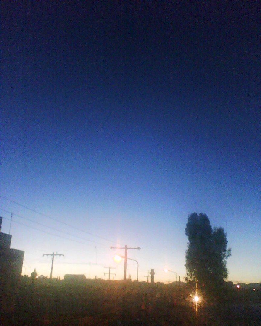 amanecer en mi ventana