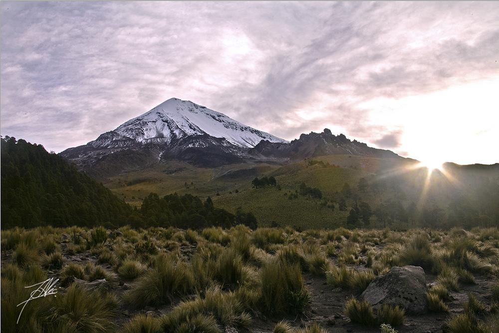 Amanecer en Pico de Orizaba