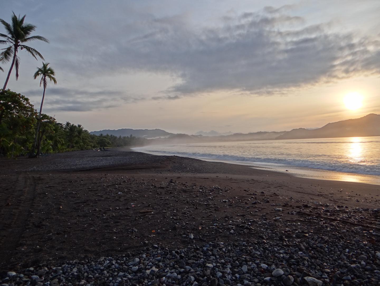 Amanecer... en Playa Tambór