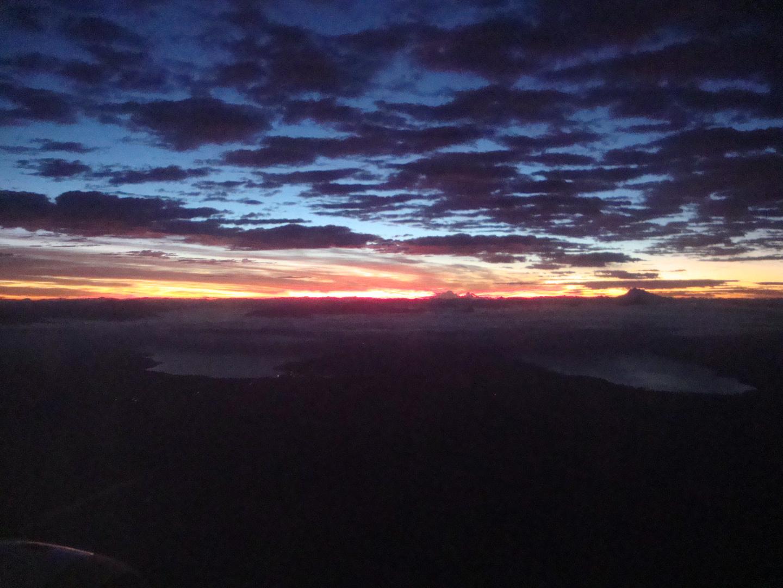Amanecer en Puerto Mont