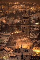 Amberger Altstadt im Winter