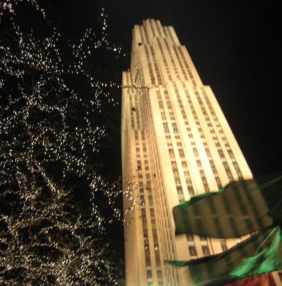 Ambiance de Noël autour de Rockfeller center