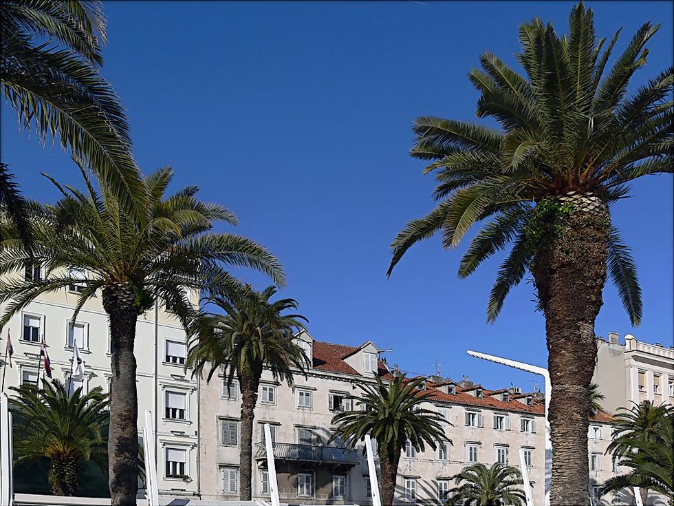 Ambiance mediteraneenne a Split ... Mediterrane Stimmung in Split ...