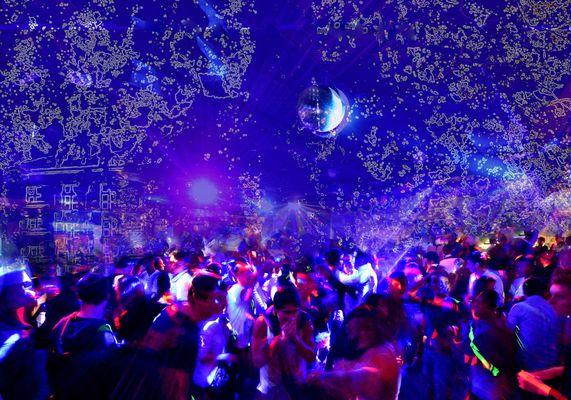Ambiance night-club