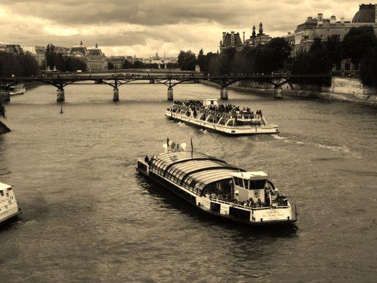 Ambiance sur la Seine
