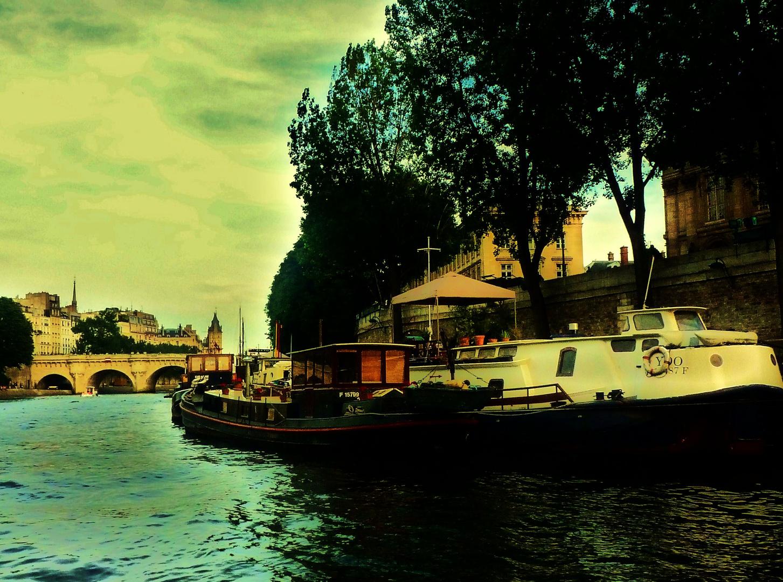 Ambiance sur Seine...