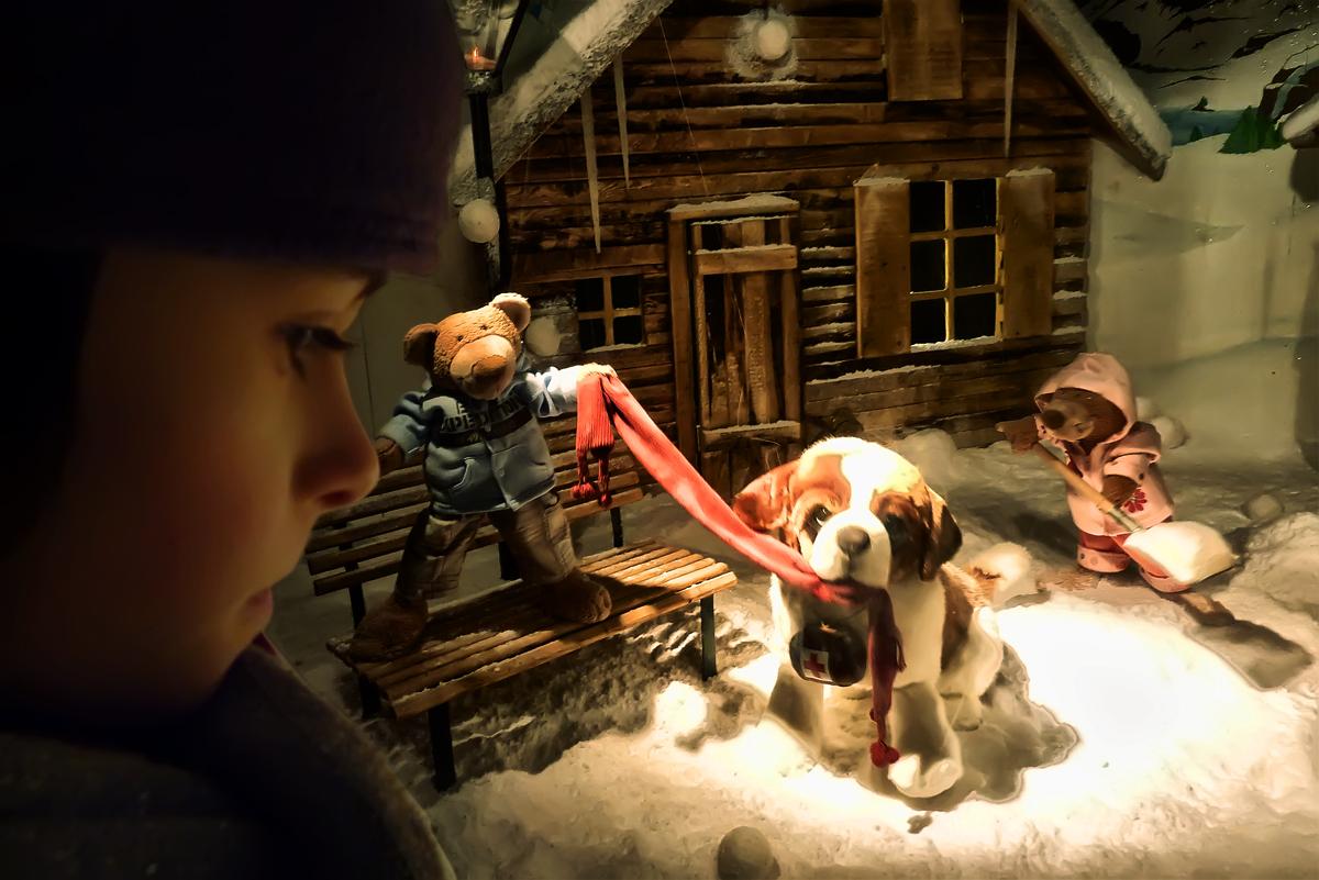 Ambre, Noël approche...