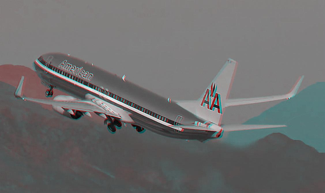 America Airlines / Start in Las Vegas