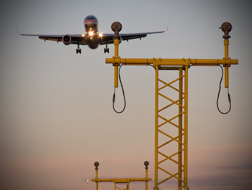 """""""American 156, cleared to land runway two-seven right"""""""