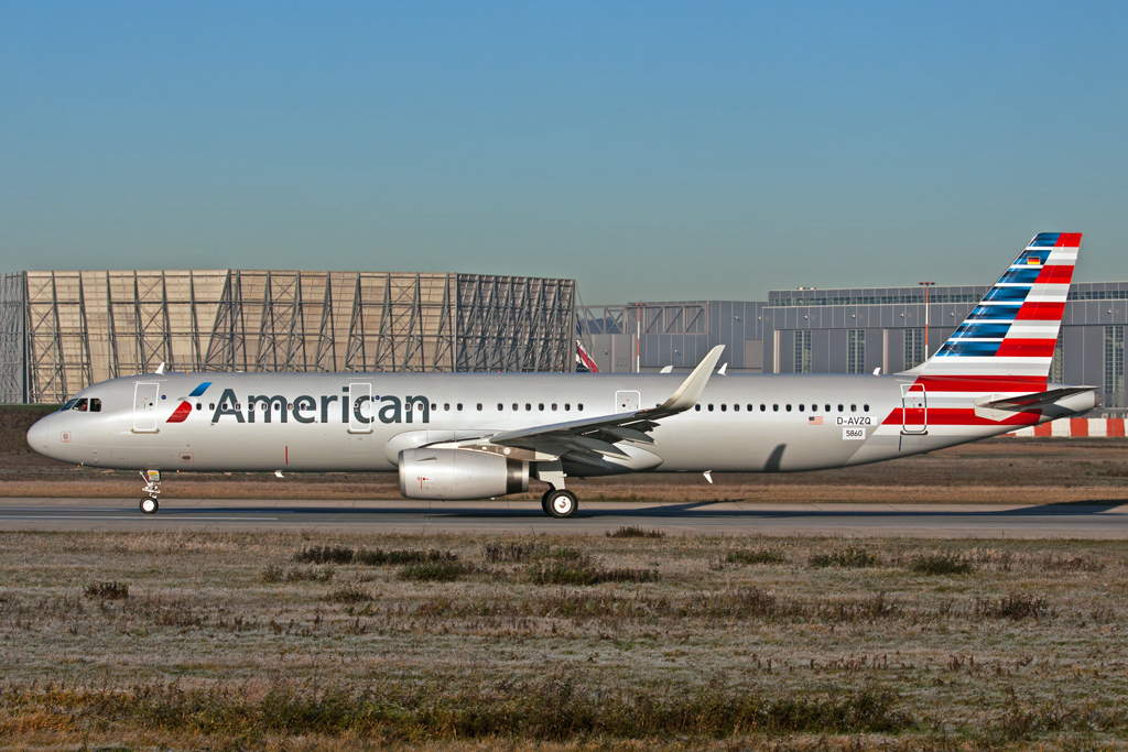 American Airbus A321SL