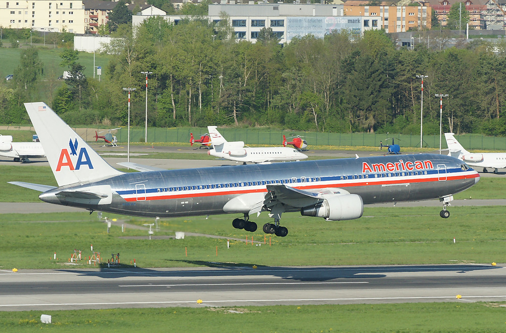 American Airlines Boeing 767-323