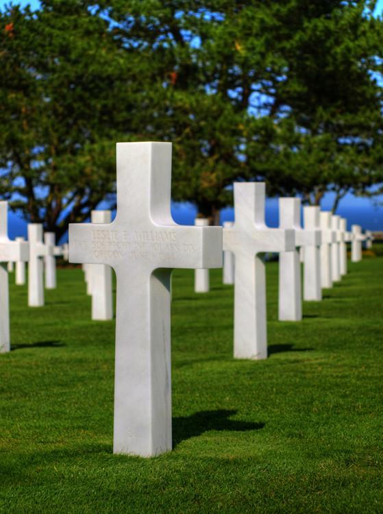 American Cemetery in der Normandie (D-Day)