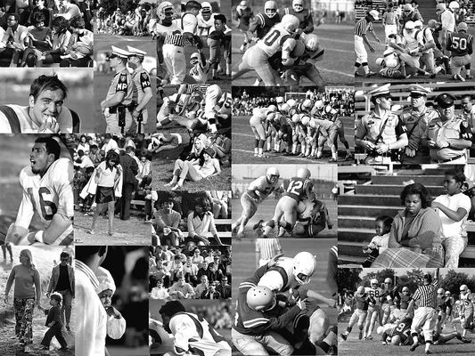 American Football 1969 Collage 1